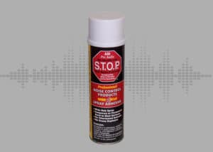 Noise S.T.O.P.™ (Professional Series) Adhesive Spray